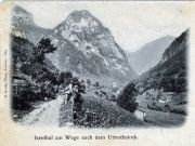 008-Foto  547 - Isenthal am Wege nach dem Urirothstock