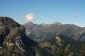 Foto 01380 - Blick über Sattel und Horn zum Oberbauen und Schwalmisgebiet