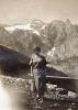 Foto 06369 - Meier Emilie bei der Biwaldhütte (Freundin von Limacher-Gasser Hermine) 1923