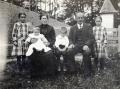 Foto 06371 - Von Rotz V. mit Familie (Firmgötti von Heer-Limacher Marie-Louise
