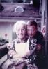 Foto 11663 - Peter Gasser mit Grosi Ida Gasser-Ziegler 1967