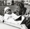 Foto 11664 - Peter Gasser mit Vater Andreas Gasser-Hess 1944