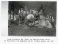 Foto 11750 - Aschwanden-Bissig Ursula Urscheli und Theodul auf der vordeern Bodmi um 1910