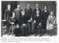 Foto 11754 - Aschwanden-Bricker Theodul und Franziska mit Nachkommen Karl, Hans , Franz, Meinrad, Therese, Johanna, Hedwig