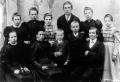 Foto 00646 - Fam.Josef u.Christiana Zurfluh-Bissig / H.R Rosa,Margrit,Katharina,Franz,Anna,Sophie/V.R.Josepha,Mutter,Michael,Alois,Vater