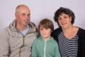 Bissig Armin und Antonia Furrer mit Sohn Valentin, Isenthal 1969, 1966, 2009