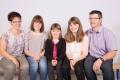 Kempf-Bissig Manuela und Fredy mit Kindern Alexandra, Michelle und Fabienne, 1976, 1975, 2002, 2007, 2004