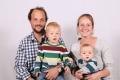 Bissig Simon und Barbara mit Kindern Tim und Janik, Isenthal, 1986, 1987, 2015, 2017