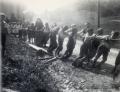 Foto 009 - Glockenaufzug 1934 - Knaben, Klosterfrau und Mädchen