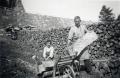 Foto 090 - Holz aus dem Isenthal Isleten ca. 1937