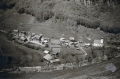 Foto 11032 - Isenthal von oben Dorf vom Kleintal-Cheer ca. 1940