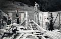 Foto 825 - Schulhausbau 1934 Massive Holzwände (gewandet)