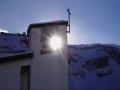 0022Fotowettbewerb - Sonne durchs Tor und den Turm - von Karl Bissig, Isenthal