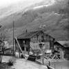 Foto 01725 - Abbruch des Adlers Gasthaus, Schulhaus, Pfarrhelferwohnung