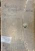 Dokument 06460 - Taschenkalender für Schweizer Alpenclubisten 1906