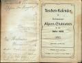 Dokument 06462 - Taschenkalender für Schweizer Alpenclubisten 1906