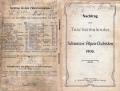 Dokument 06612 - Taschenkalender für Schweizer Alpenclubisten 1906