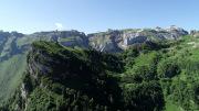 Blick über den Alpeler zum Oberalper Grat und Chaiserstuel