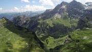 Oberalp mit Blick auf Fulen und Schlieren - Urirotstock