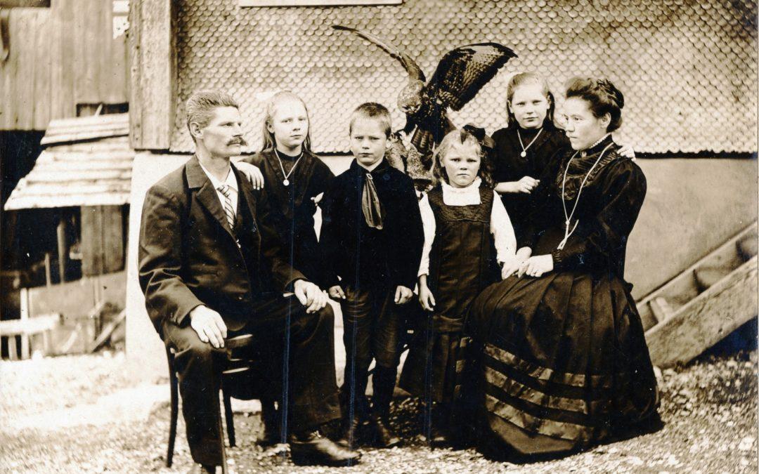 Familie Gasser-Gasser, Sägerei