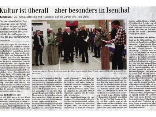 Kultur ist überall – aber besonders in Isenthal