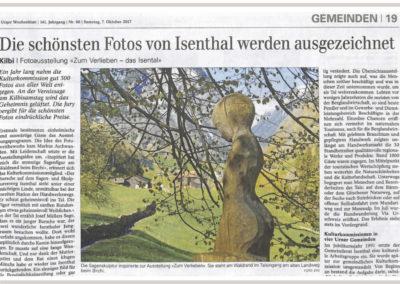 Die schönsten Fotos von Isenthal werden ausgezeichnet