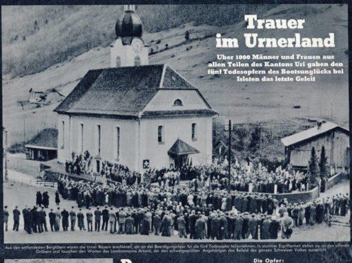 Bootsunglück 1949