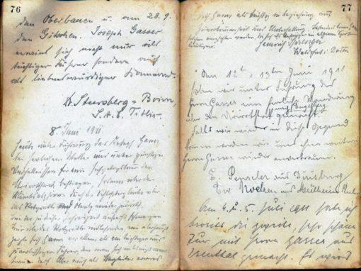 Bergführerbuch von Josef Gasser-Gasser