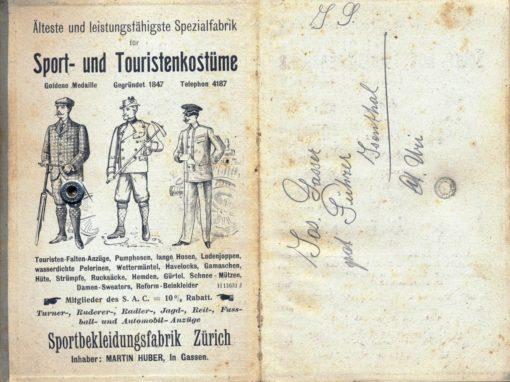 Taschenkalender für Alpenclubisten