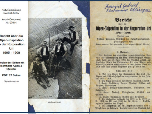 Alpen-Inspektion 1905-1908