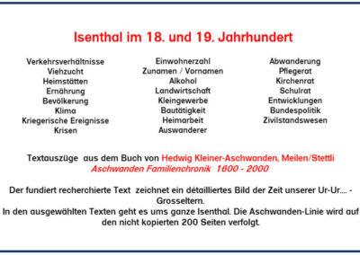 Isenthal im 18. und 19. Jahrhundert