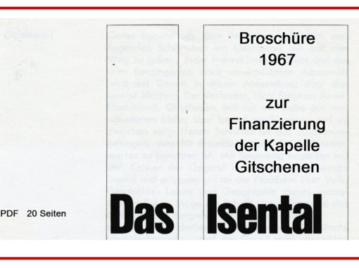 Isenthal – Broschüre 1967