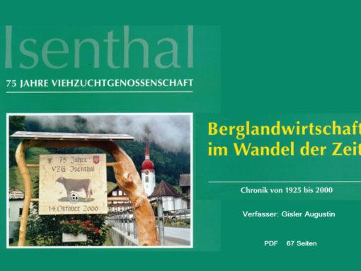 Isenthal – Berglandwirtschaft im Wandel der Zeit