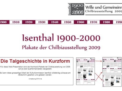 Talgeschichte 1900-2000