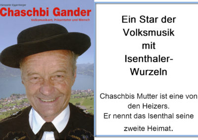 Chaschpi Gander – Volksmusikant, Präsentator, Mensch