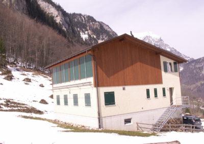 Neubau Schützenhaus Heulegi, Kleintal 2003/04