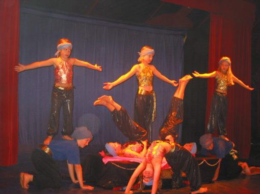 Schule macht Zirkus im Isenthal