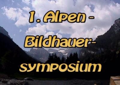 1. Alpen-Bildhauersymposium 2006 auf Gitschenen