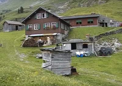 Kilian und Petra Imholz-Infanger Alp Wilderbutzen