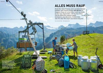 Von Alp zu Alp – Reportage von Jost Auf  der Maur und Angel Sanchez