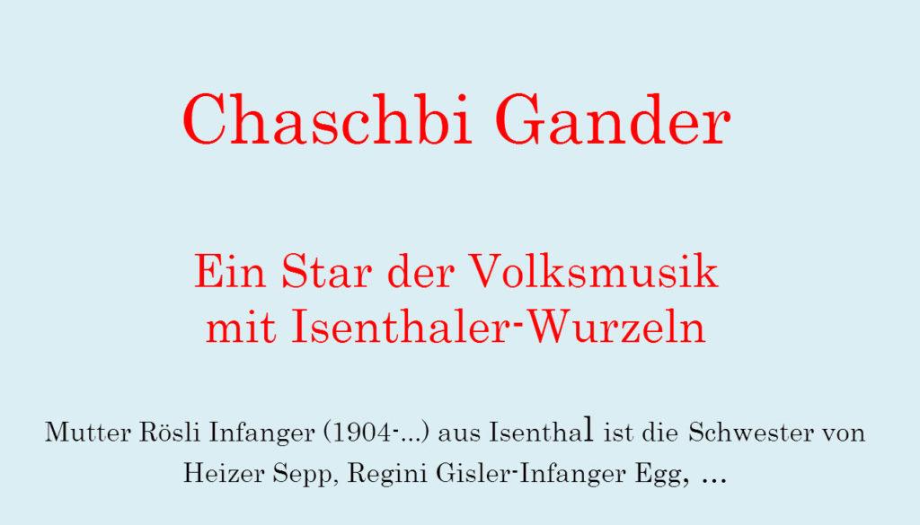 Chaschpi Gander