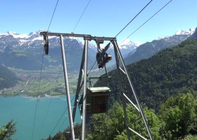 Seilbahnfahrt Vorder Bärchi – Oberbärchi