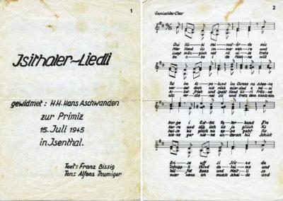 Ds Isithaler-Liedli