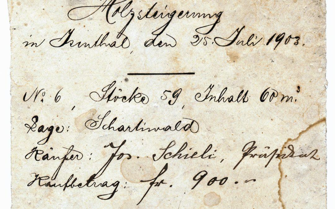 115-jähriges Dokument gibt Rätsel auf