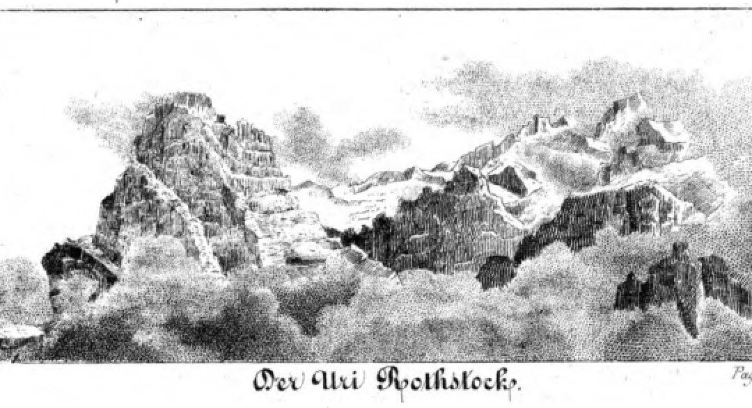 Im Isenthal vor 180 Jahren (Ein Fundstück)