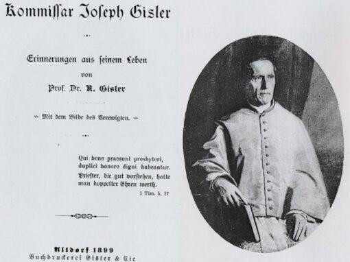 Kommissar Joseph Gisler von der Oberbärchi
