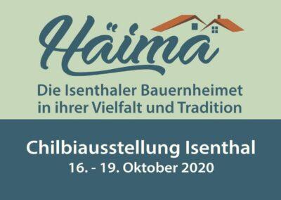 Chilbi Ausstellung 2020 – Die Plakate