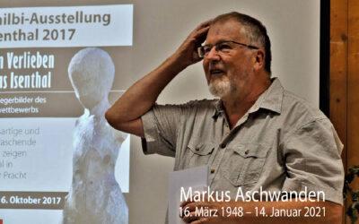 Zum Gedenken an Markus Aschwanden