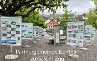 Partnergemeinde Isenthal zu Gast in Zug