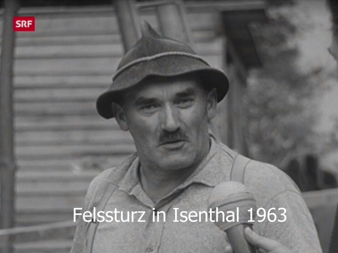 Felssturz in Isenthal